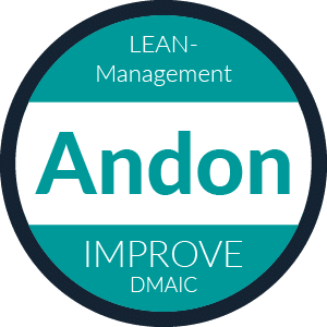 Lean Management Methode: Andon. Improve im DMAIC